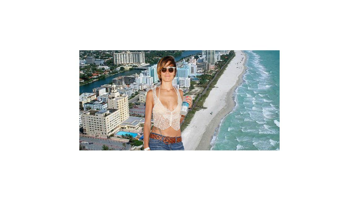 Los días de Juana Viale en Miami