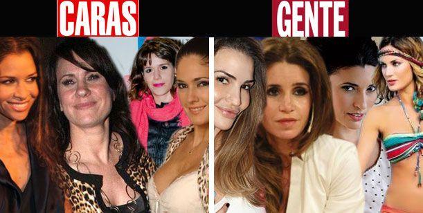 Exclusivo: La guerra Ortega-Tinelli llega a las revistas; Caras va con las Graduadas