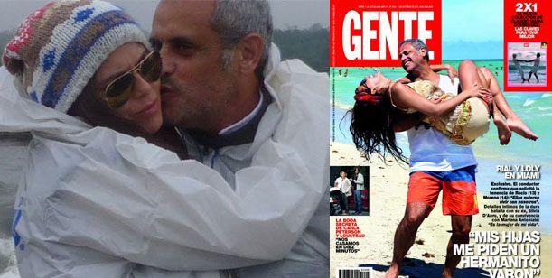 Adelanto revista Gente - Rial y Mariana: Rocío y Morena nos piden un varón