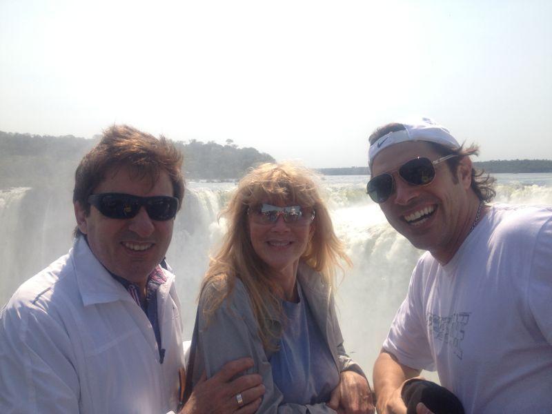 Domingo en las Cataratas del Iguazú para los famosos que fueron al Martín Fierro