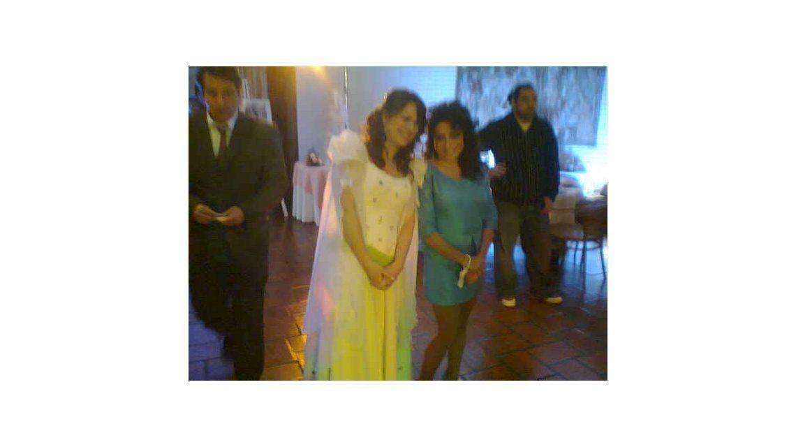 Anticipo: El look de Nancy Dupláa para la Fiesta de 15 de Loly en Graduados