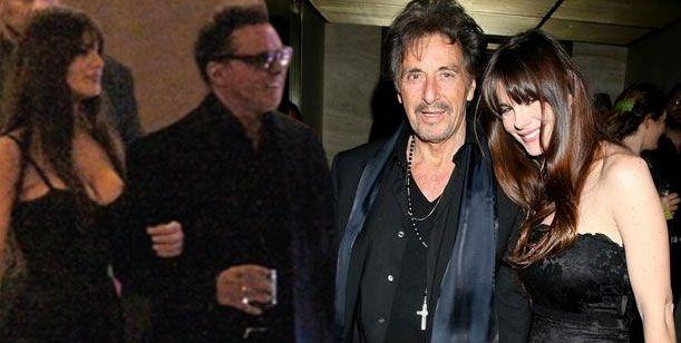 La ex de Al Pacino, ya se muestra con Luis Miguel