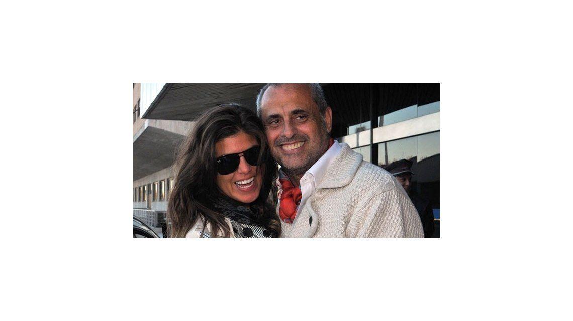 Exclusivo: Jorge Rial se fue a Estados Unidos con su novia por diez días