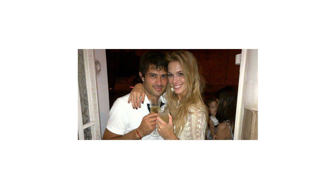 Rumores de embarazo para Chechu Bonelli y el futbolista Darío Cvitanich