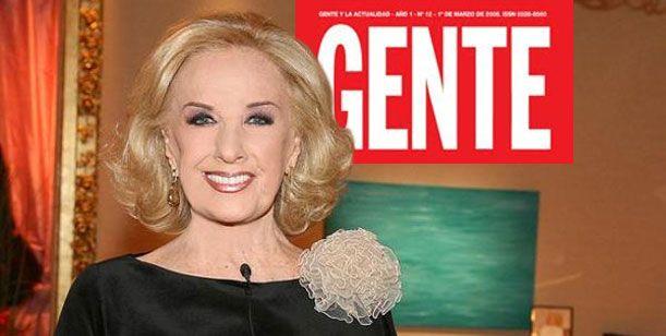 Mirtha Legrand, la reina madre de la gala de la revista Gente