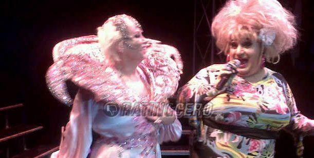 Madrugada de boliche gay para Carmen Barbieri: hizo su show en Amérika