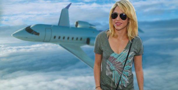 Exclusivo: El pésimo momento de Shakira embarazada, en un avión