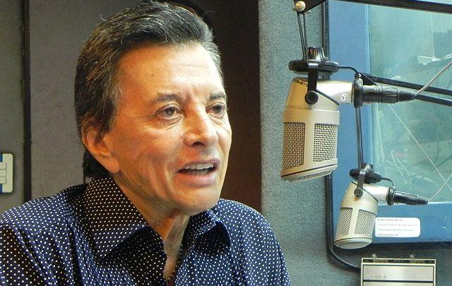 Internaron a Palito Ortega con un dolor en el pecho: está en observación