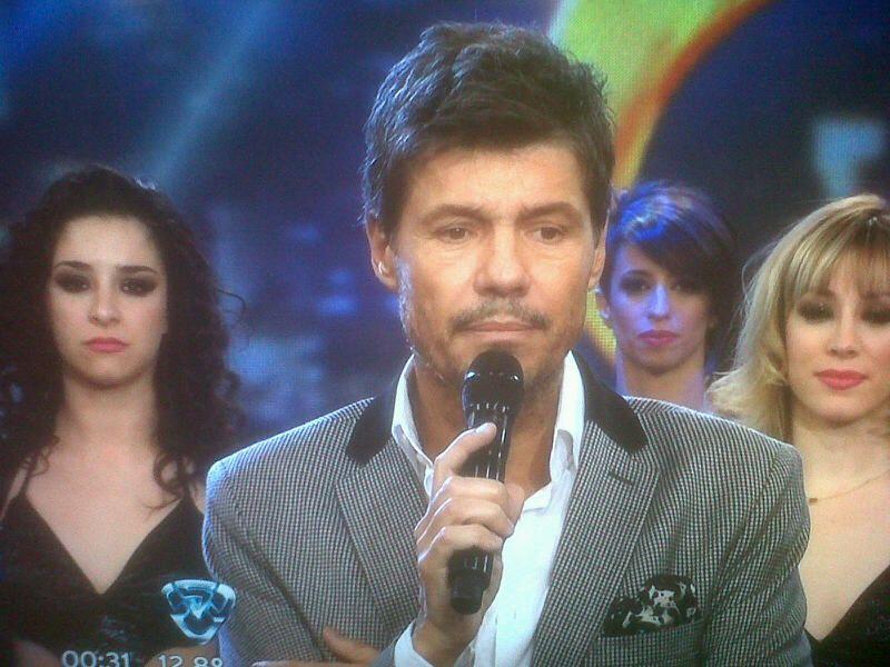 Marcelo Tinelli homenajeó a Blanca Vicuña en Showmatch