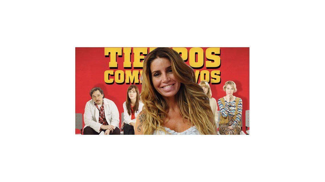 Florencia Peña empieza a grabar en Tiempos Compulsivos