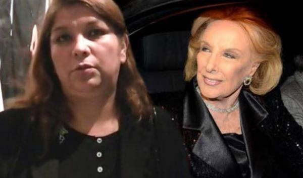 El Robo de las joyas a Mirtha: Lina se defendió por la TV y eligió Chiche en vivo