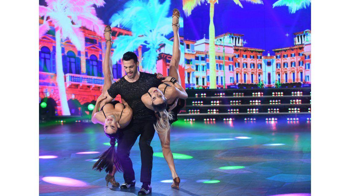 Flor Marcasoli en el Bailando