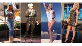 Vicky Xipolitakis, Carmen Barbieri, Cande Ruggeri y Ale Maglietti se animaron al rosa