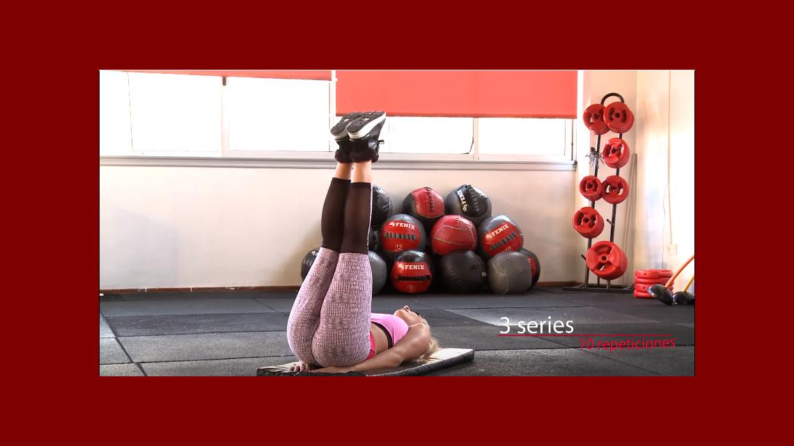 El video de Sol Pérez y sus sugerentes ejercicios