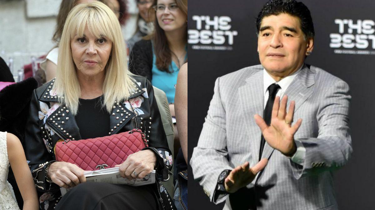 Claudia Villafañe demandará por calumnias e injurias a Diego Maradona