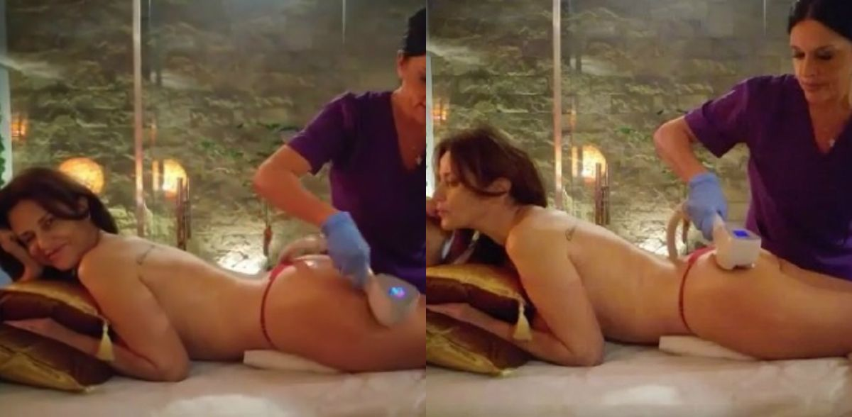 El tratamiento de la cola de María Fernanda Callejón