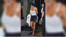 Kim Kardashian mostró de más en Nueva York
