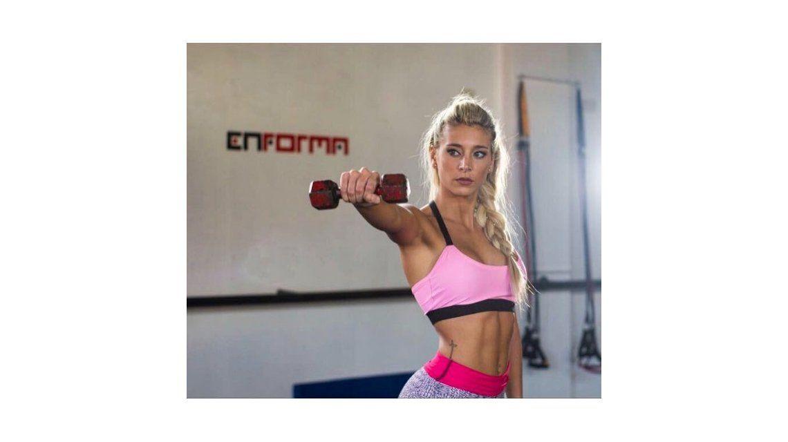 El video fitness y súper sexy de Sol Pérez, con su cola en primer plano