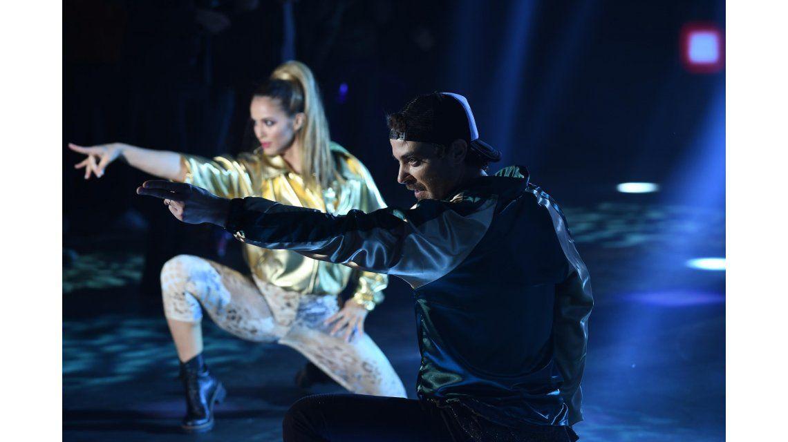 Pedro Alfonso y Flor Vigna bailaron Ritmo de la Noche