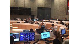 C5N estrenó su nuevo estudio de mil metros cuadrados: fotos y videos