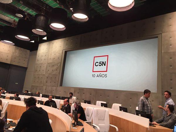 C5N estrenó su nuevo estudio