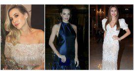 Los looks de los famosos en una cena de gala: la elegancia de Pampita, Guille Valdes, y Attias