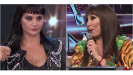 Picante cruce entre Nancy Pazos y Moria Casán en ShowMatch