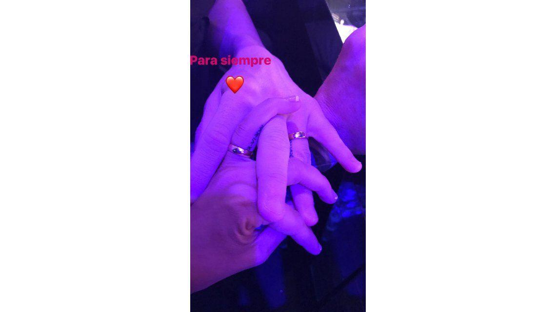 Antonella Roccuzzo y Messi se tatuaron la fecha del casamiento: la foto
