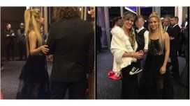 Shakira en la boda de Messi