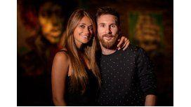 La última foto de Messi y Antonella antes de casarse.