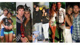 La historia de amor de Messi y Antonella en 40 fotos