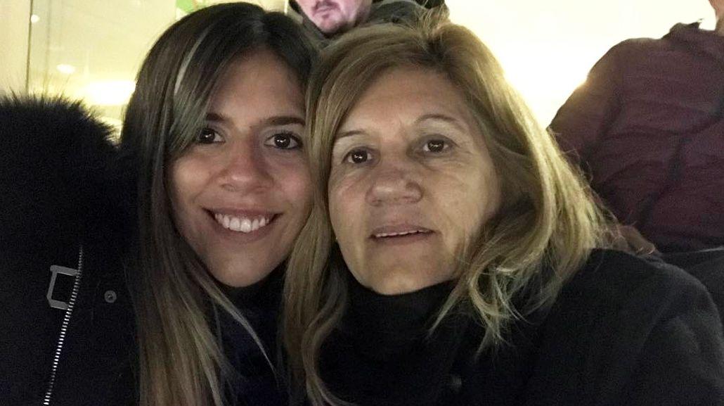 La hermana y madre de Messi