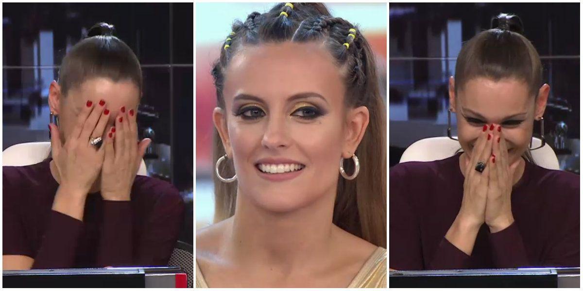 Pampita, avergonzada frente a Melina Lezcano luego de que la elogiara como mujer