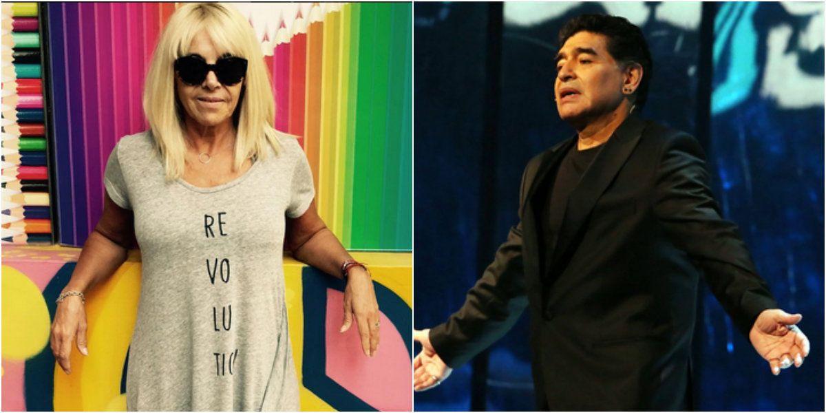 El audio de Diego Maradona a Claudia Villafañe que lo compromete en la Justicia