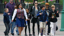 La hija de Brad Pitt y Angelina Jolie