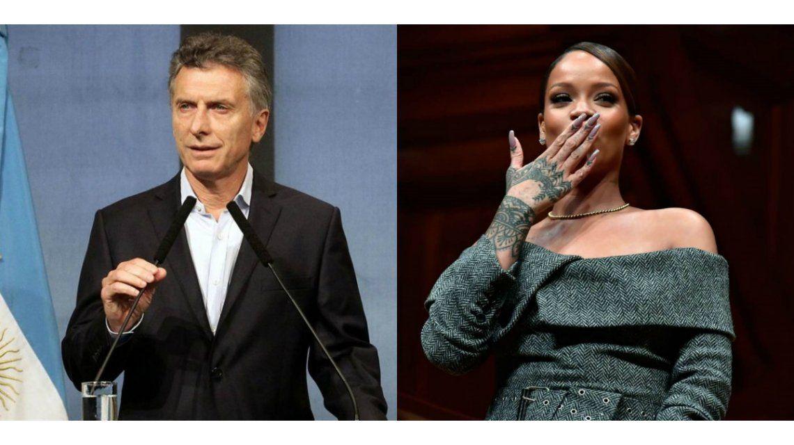 Mauricio Macri le respondió a Rihanna por la educación