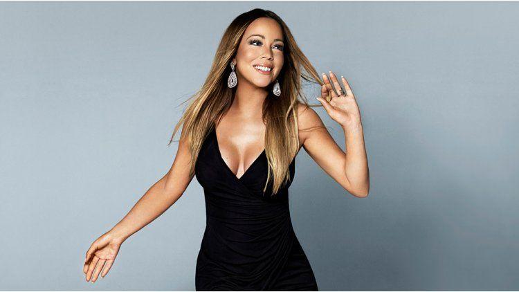 Mariah Carey exhibió su aumento de peso en Barcelona