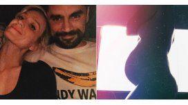 Brenda Gandini y Gonzalo Heredia esperan el nacimiento de su segunda hija.