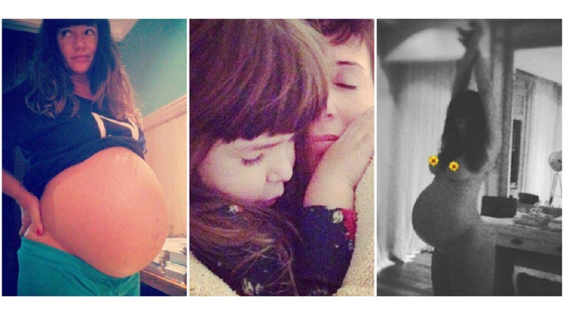 Griselda Siciliani Compartió Una Foto Al Desnudo Y Embarazada Por El