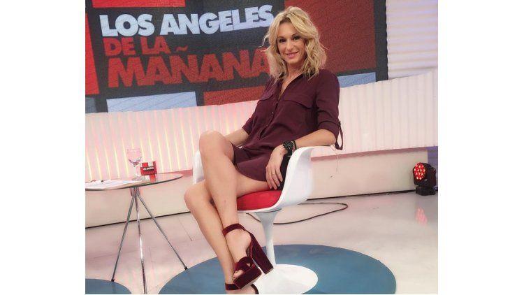 Yanina Latorre ensaya para el Bailando