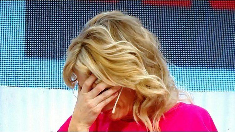 Yanina Latorre llorando