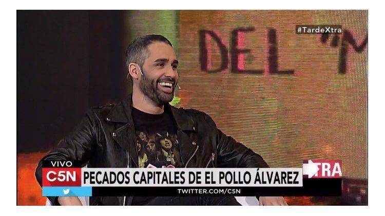 El Pollo Álvarez en Tarde Xtra por C5N