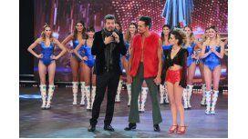 Tinelli volvió a Showmatch después de quedarse sin voz.Foto: Jorge Luengo