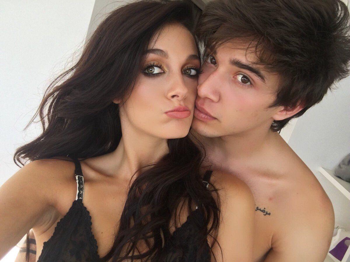 Oriana Sabatini y Julián Serrano