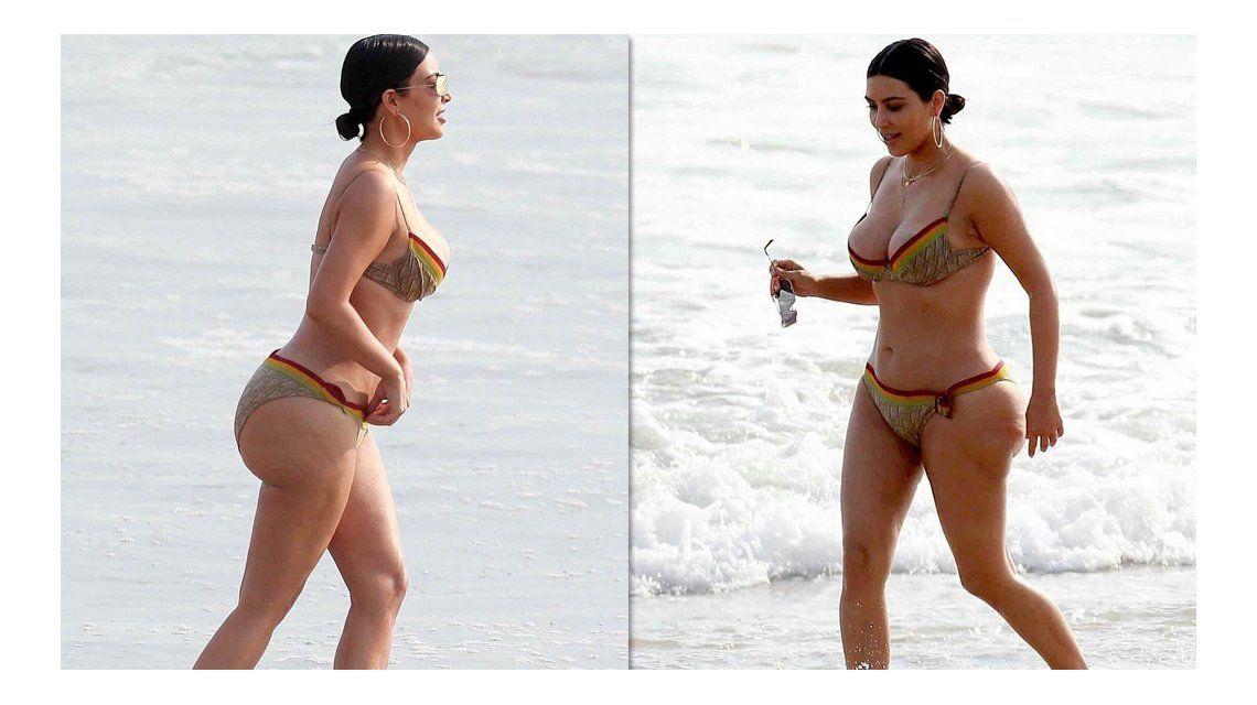 Kim Kardashian respondió a las críticas por el uso de photoshop