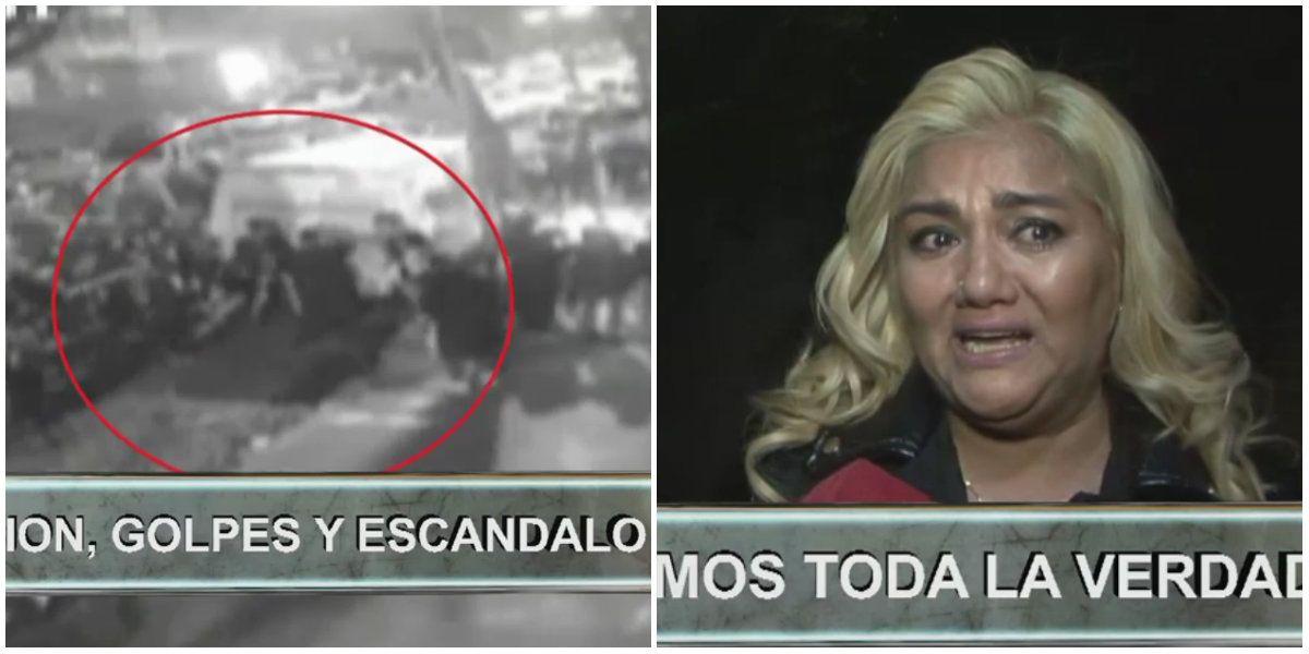 Las imágenes de la pelea afuera de Ideas del Sur tras el enfrentamiento de Mica Viciconte y Gladys la Bomba Tucumana