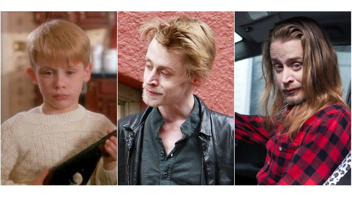 Macaulay Culkin con el paso de los años