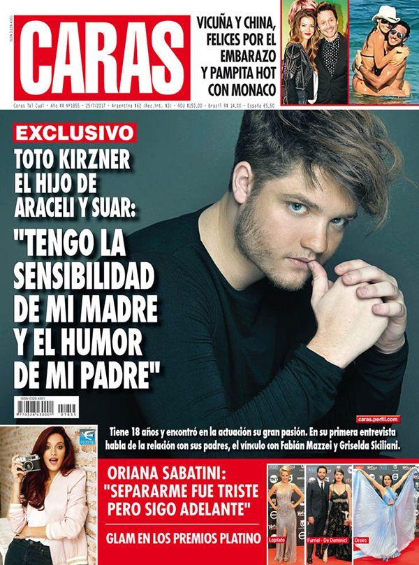 Toto Suar en revista Caras