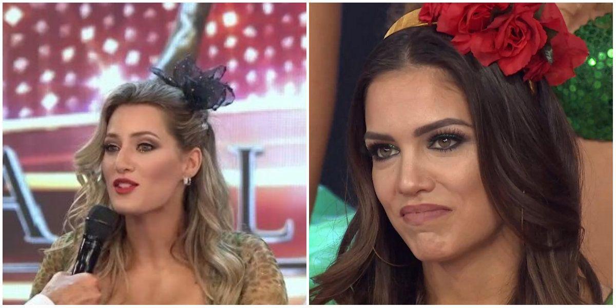 Fuerte cruce entre Mica Viciconte y Rocío Robles tras un beso de la bailarina con el Bombo
