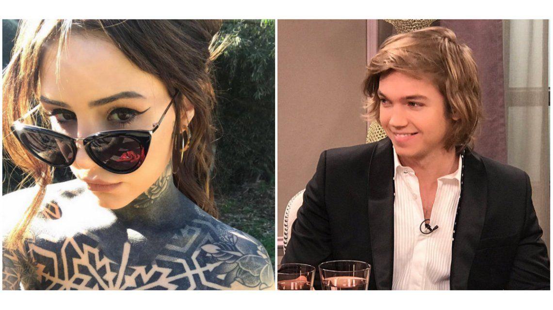 Ella en las redes, él en TV: divertido ida y vuelta de Cande Tinelli con Franco Masini